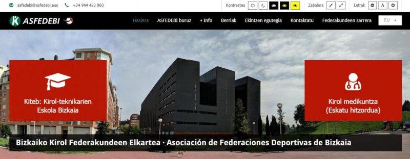 ASFEDEBI renueva su web
