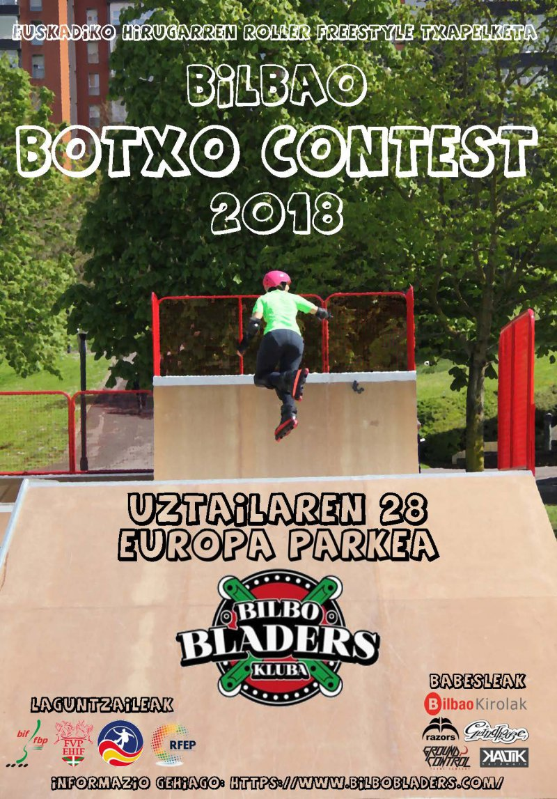 Bilbao Botxo Contest 2018 Roller Freestyle
