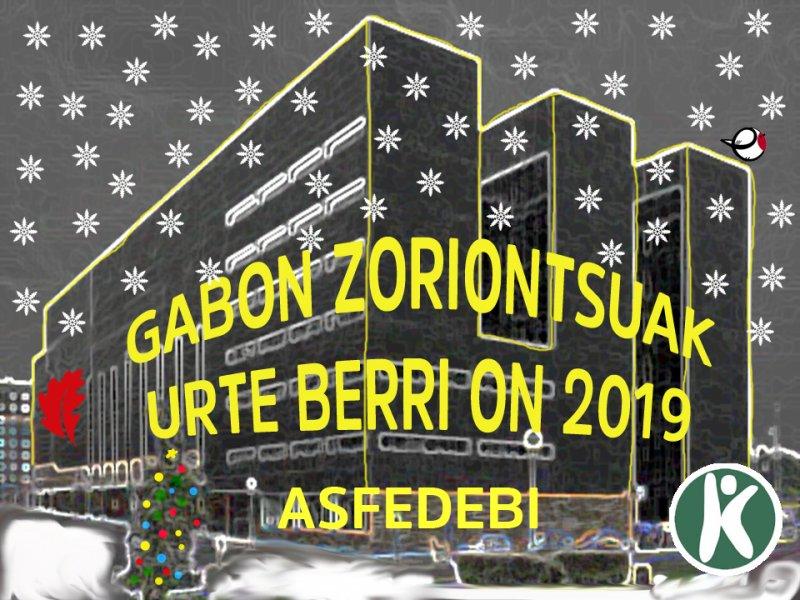 GABON ZORIONTSUA ETA URTE BERRI ON
