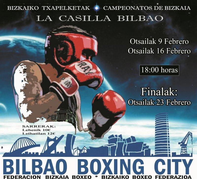Campeonatos de Bizkaia de Boxeo 2019 - Cuartos de final