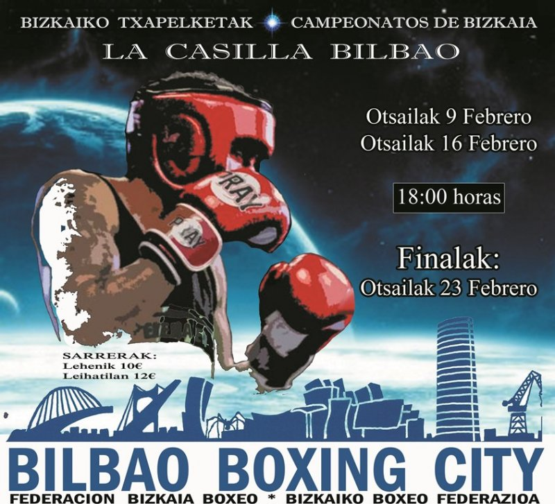 Campeonatos de Bizkaia de Boxeo 2019 - Finales