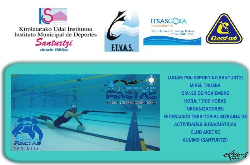 Campeonato de Bizkaia de Tiro en piscina 2019