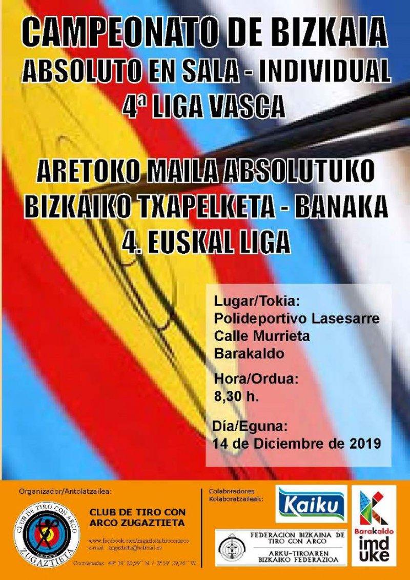 Campeonato de Bizkaia Absoluto en Sala -individual-