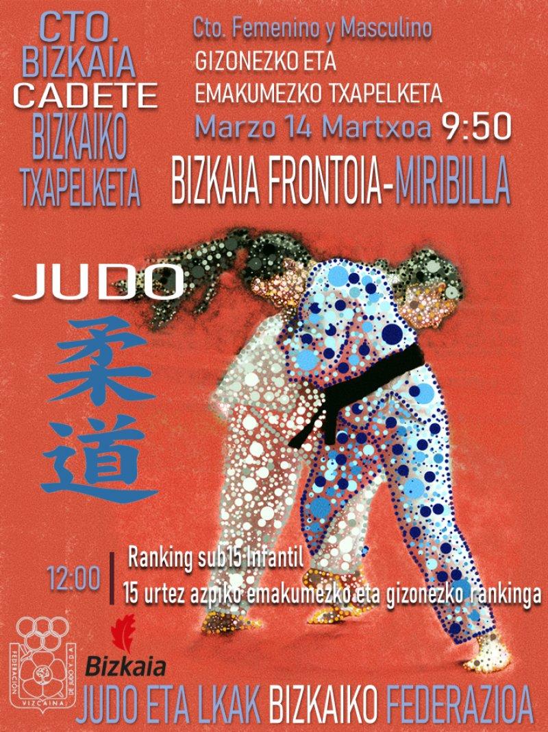 CANCELADO Campeonato Bizkaia Cadete. Femenino y Masculino